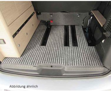 Kofferraum Teppich ohne Schienen, Citroen Campster, anthrazit