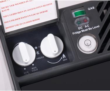 Absorber K�hlbox 38l, 50mbar, 12V/230V/Gas, 500x490x447mm, ca. 18kg