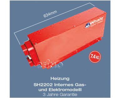 Webasto Einbau Gas/Elektroheizung 12V/230V 2kW