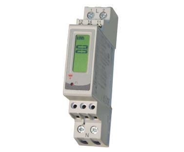 Stromz�hler 230V mit LCD-Anzeige, max 32A