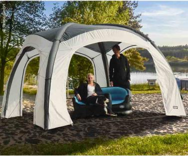 Pavillon/Party-Shelter MESSINA, 3x3m, Luftschl�uche