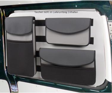 Taschentr�ger f�r Fenstertaschen, VW T5/6 KR links hinten, mit Klett