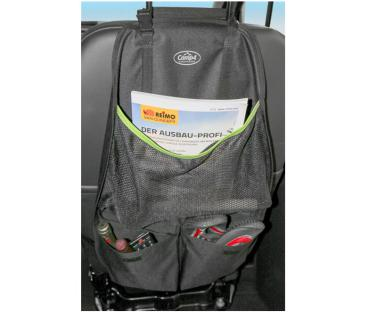 Utensilo TESSA Seat, Sitzorganizer, schwarz/lime