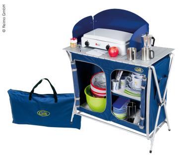 Cuccinella Quick blau, Campingk�che  mit Tasche