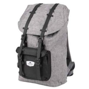 Rucksack HOLIDAY TRAVEL, grau, separates Laptop-Innenfach