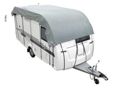 Wohnwagen schutzdach 555x300cm  grau