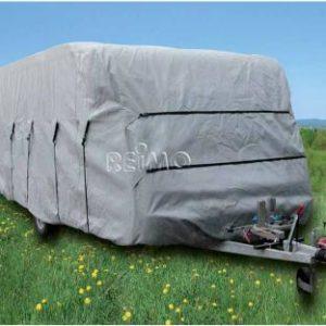 Wohnwagen Schutzh�lle 640x230x220cm, grau