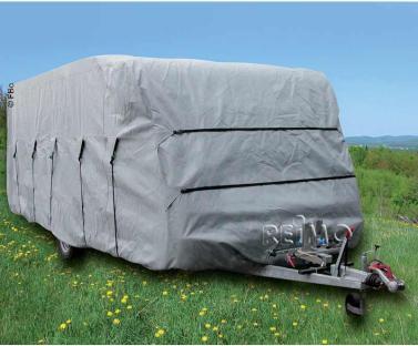 Caravan Schutzh�lle 550cm,f.Caravanbreite 2,5m, grau