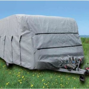 Caravan Schutzh�lle 590cm,f.Caravanbreite 2,5m, grau