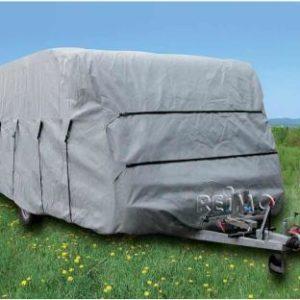 Caravan Schutzh�lle 710cm,f.Caravanbreite 2,5m, grau