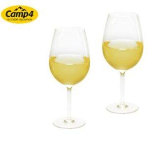 Plastik Gl�ser Weinglas 2er Set 360ml (Polycarbonat)