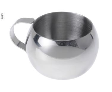 Espresso-Tasse 50ml, Edelstahl