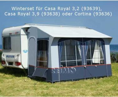 Winterset f. CasaRoyal 3,2 + 3,9m + Cortina