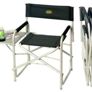 Regiestuhl Director's Chair Maxi de Luxe 2  m. Seitentisch