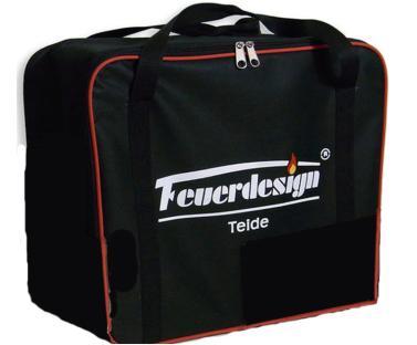Tasche f.Teide f.Feuerdesign-Tischgrill, grau