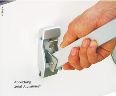Markisen-Wandhalterung Kunststoff wei� 2 St�ck