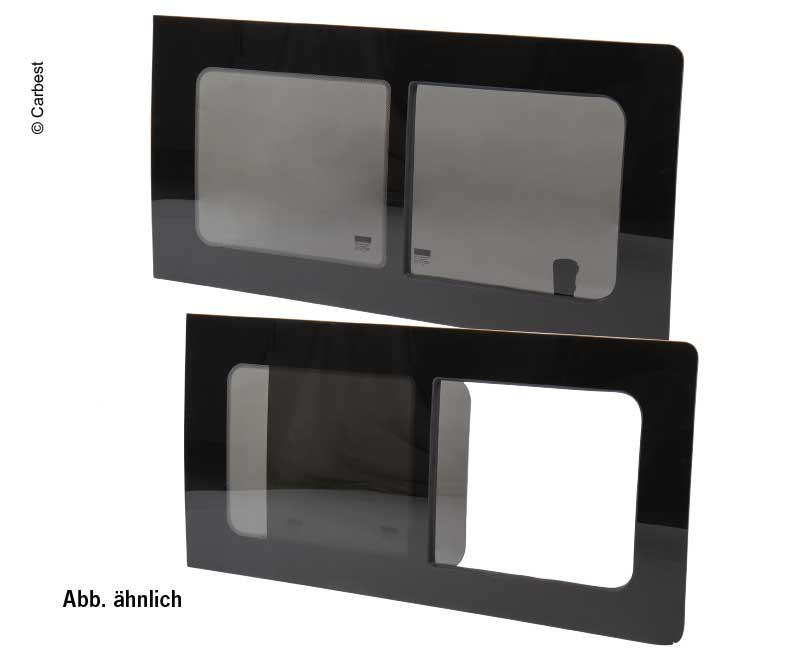 T5 Schiebefenster, T6 Seitenfenster rechts, Echtglas, 1135x585, Carbest Fenster
