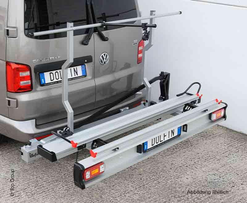 Motorradträger DOLFIN für Vans für 1 Motorrad und 1 Fahrrad