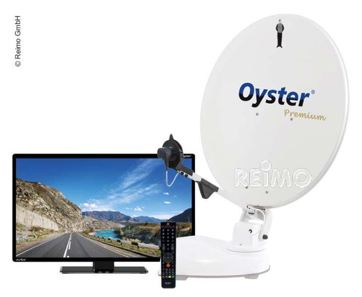 """Oyster® 65 Premium Sat-Anlage mit 19""""Oyster® TV"""