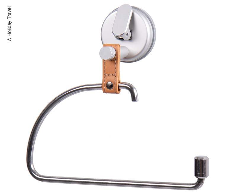 HOLIDAY TRAVEL - Handtuchhalter/WC-Rollenhalter mit Saugnapf