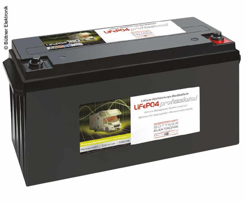 LiFePo4 Bordbatterie mit Lithium Technologie 12V 180Ah