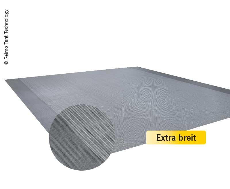 Zeltteppich VILLA SOFT DELUXE 4x3,5m grau  400g/m2