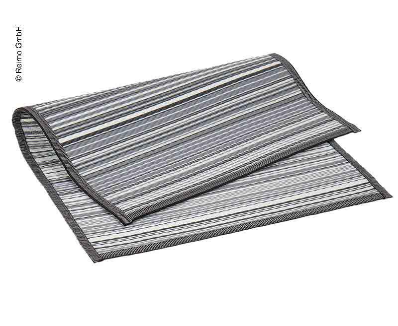 Markisenteppich VILLA STRIPE 2,5x5,0m, PP, inkl. Transporttasche