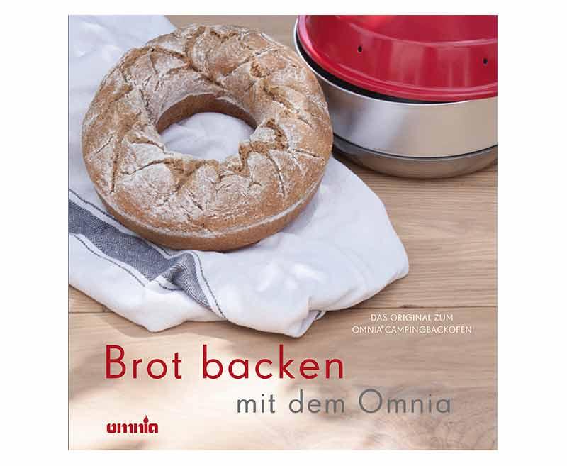 OMNIA Backbuch - Brot backen, 64 Rezepte für Brot u. Brötchen