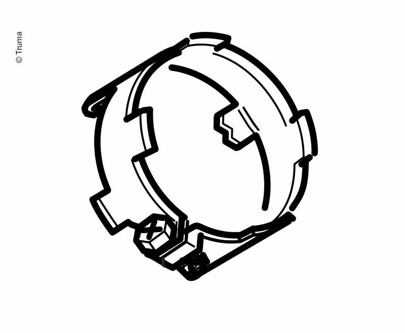 Abgasrohrschelle E2800/40