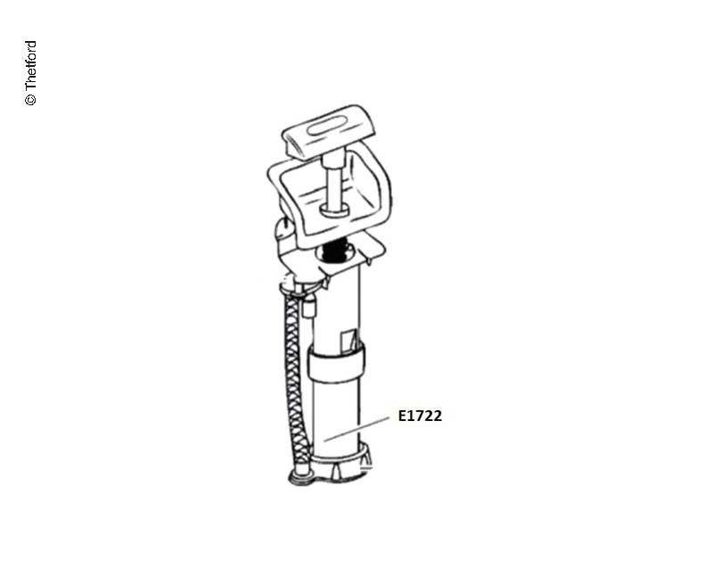 Handpumpe f. C200CW