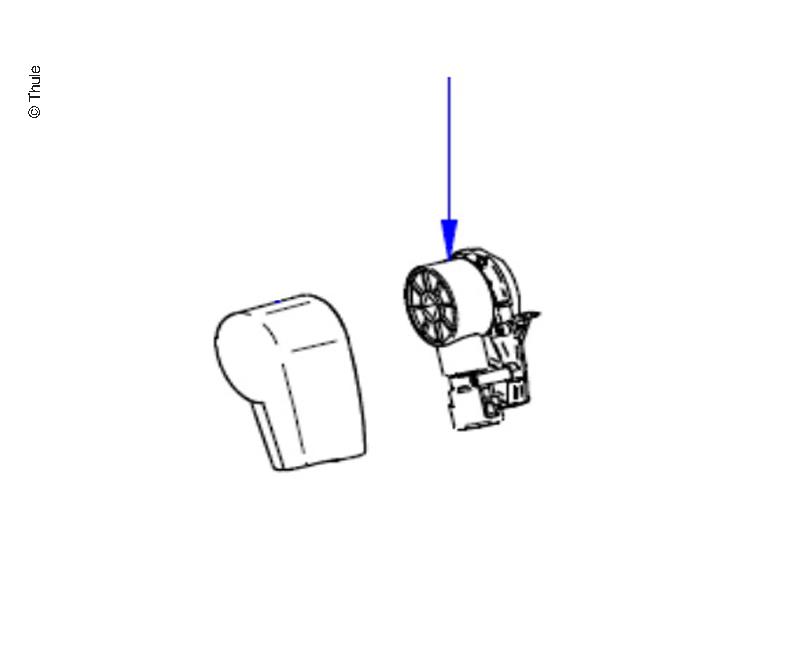 LH Endplate+Gear Assy T5