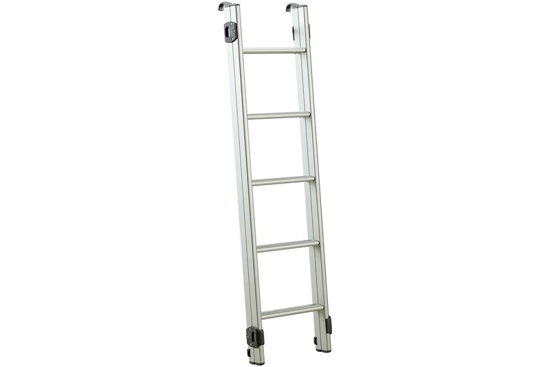 Aluminium Leiter 4x4 für Dachzelt, max. Fahrzeughöhe 215cm