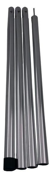 BENT Teleskop Stange 130-230cm, silber