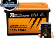 LIONTRON LiFePo4 200AH BT